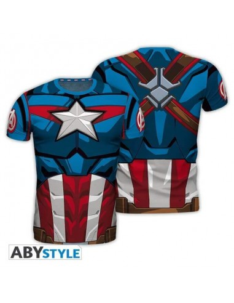 """MARVEL - T-shirt réplique """"Captain..."""