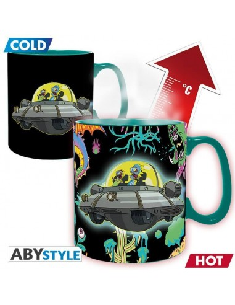 RICK & MORTY - Mug Heat Change - 460...
