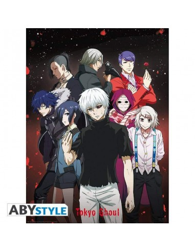 """TOKYO GHOUL - Poster """"Groupe"""" (52x38)"""